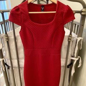 Beautiful Midi Red Dress
